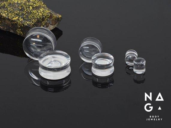 Crystal Quartz Plugs
