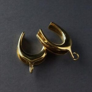 Solid Brass Platform Saddle Spreaders With Hooks