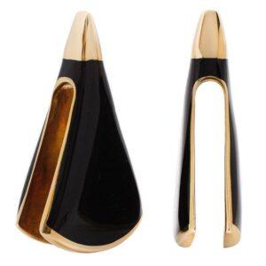 Lourde Brass Onyx