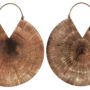 Glamazon Copper Hanging Earrings