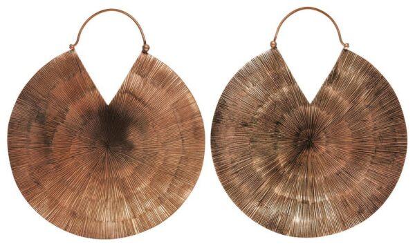 Glamazon Copper Hanging Earrings