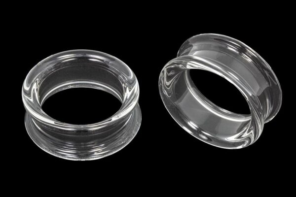Clear Double Flare Eyelets