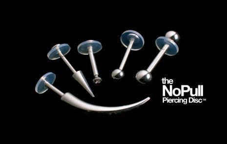 NoPull Piercing Discs